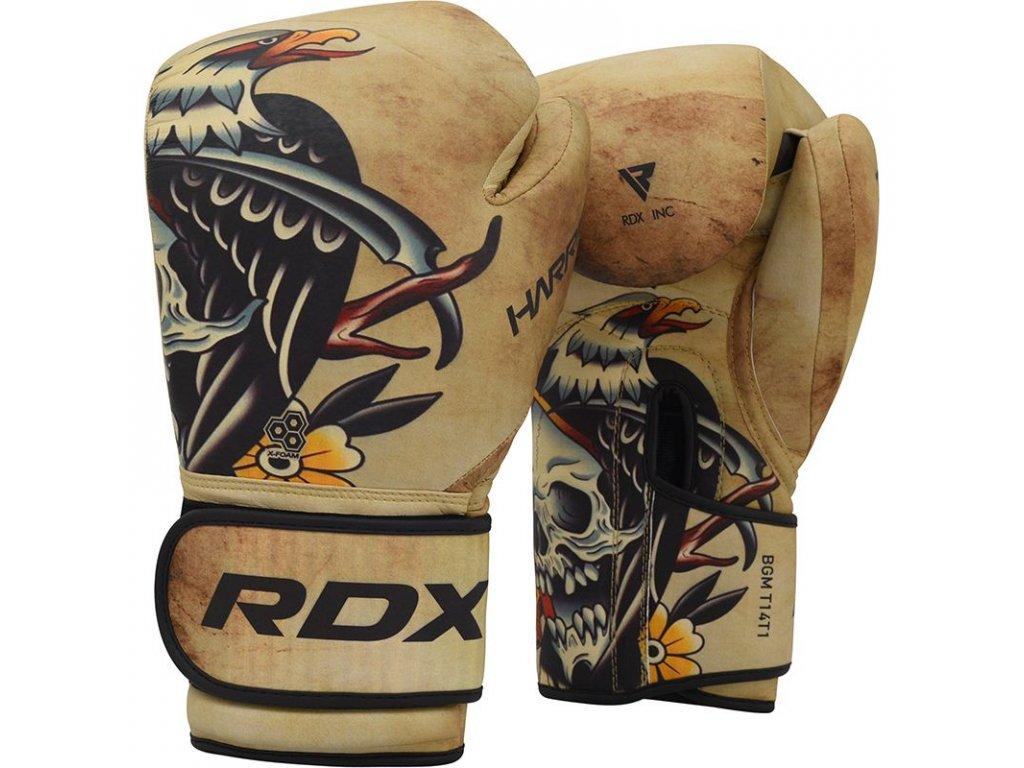 Boxerské rukavice Harrier Tattoo RDX