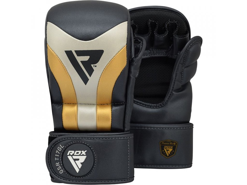 MMA rukavice pro sparing RDX AURA T17