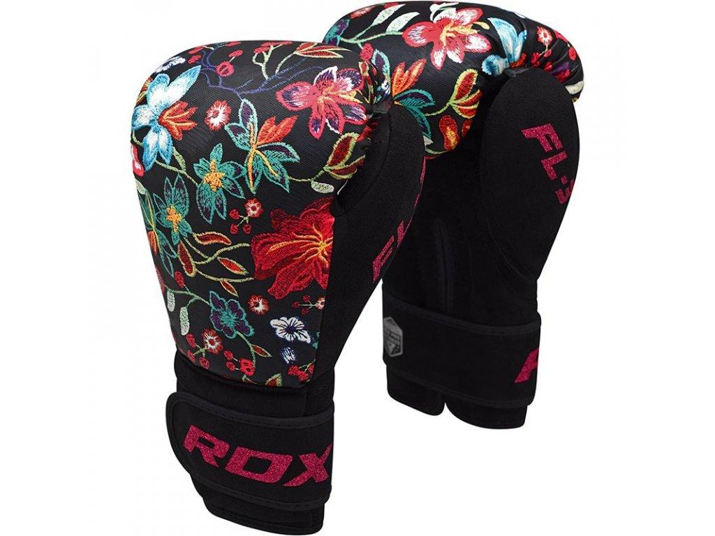 Boxerské rukavice RDX Floral FL3