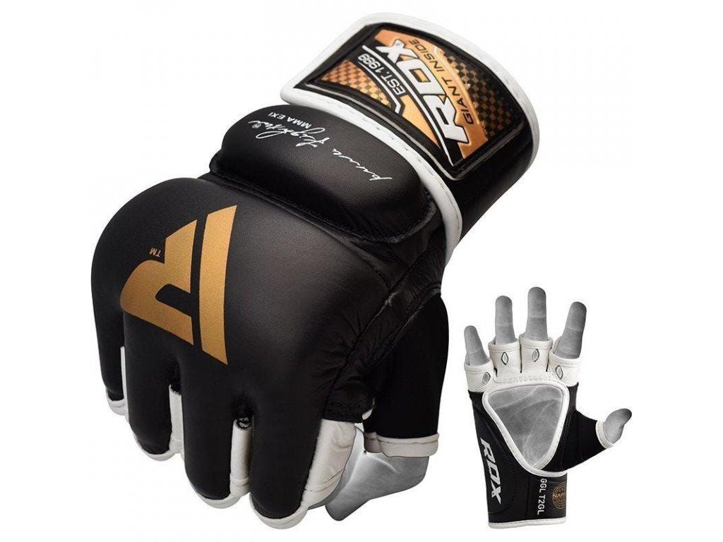 MMA rukavice kožené RDX T2
