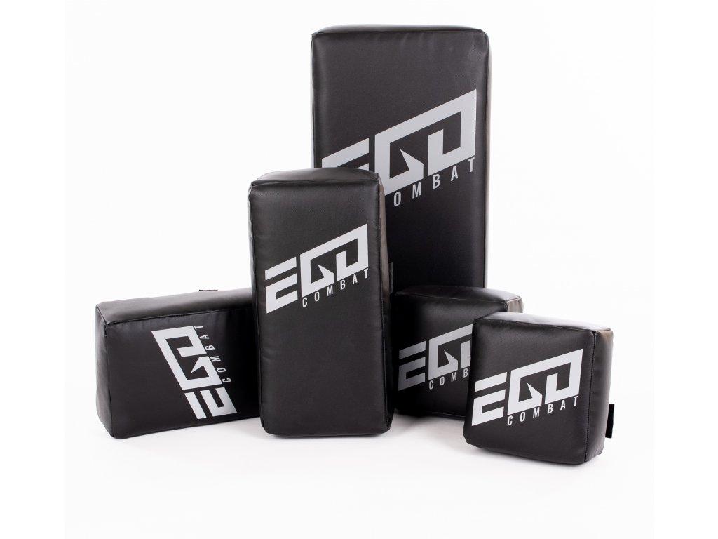 Akční set lap Ego Combat Energy.2. Lapy kostka, lapy thaj a středně velký rovný blok.