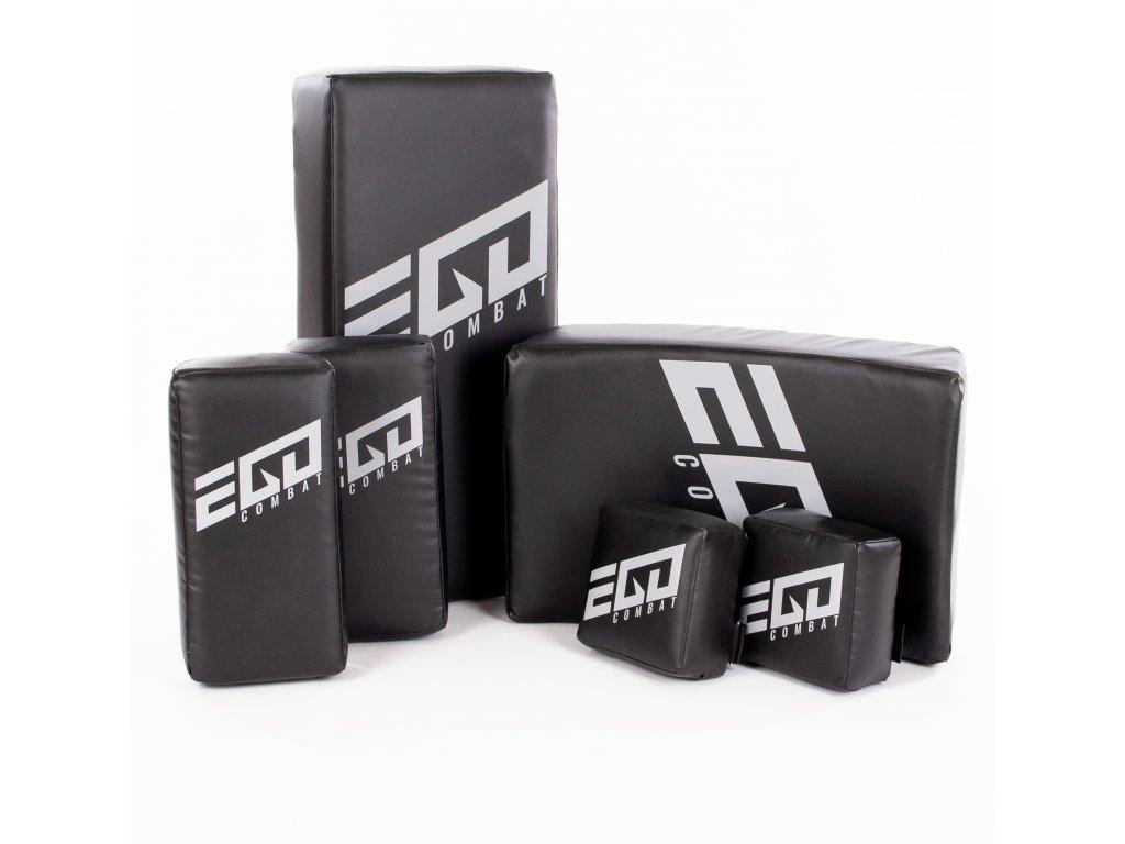 Akční set lap Ego Combat Energy.2. Lapy kostka, lapy thaj, středně velký rovný blok a prohnutý blok.