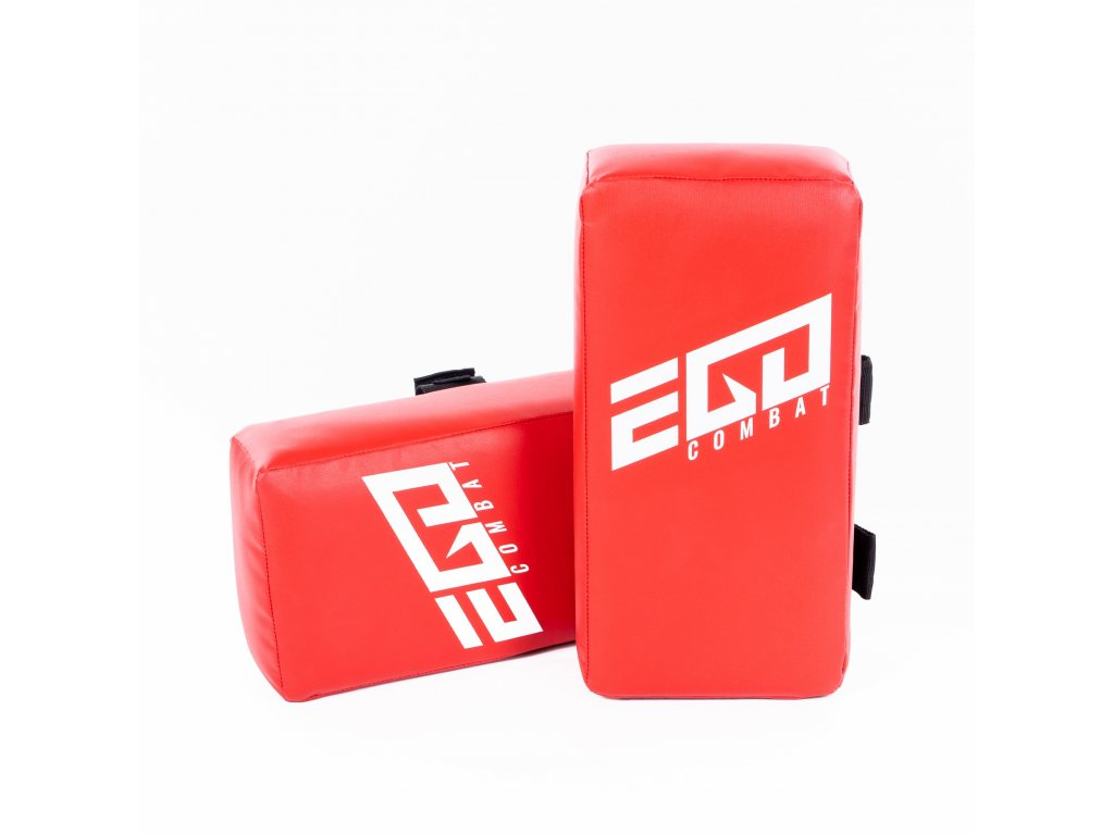 Thajský blok Energy.2 Ego Combat - 40x20x10 cm. Červená barva.