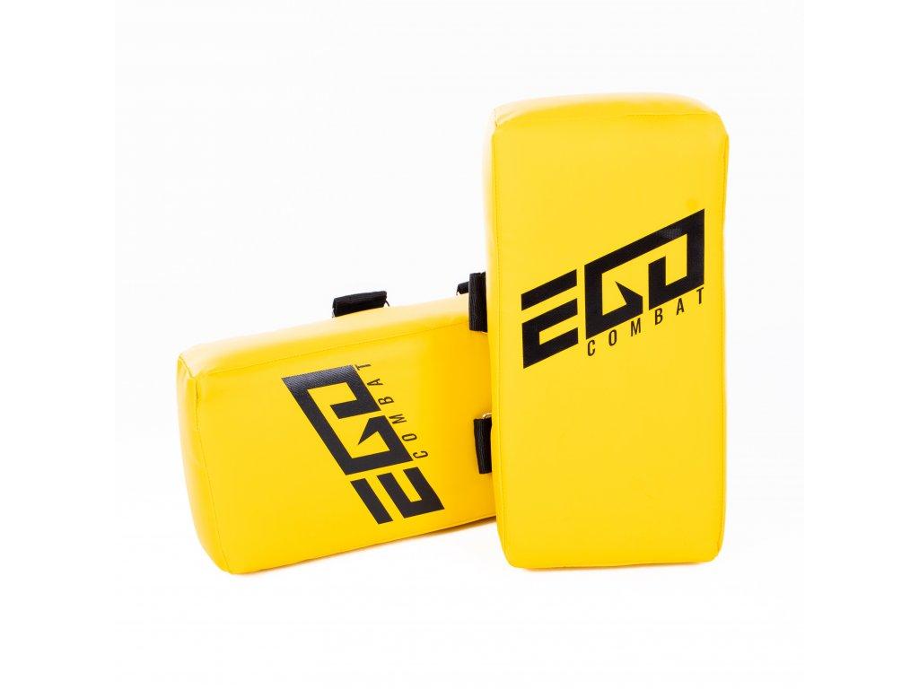 Thajský blok Energy.2 Ego Combat - 40x20x10 cm. Žlutá barva.