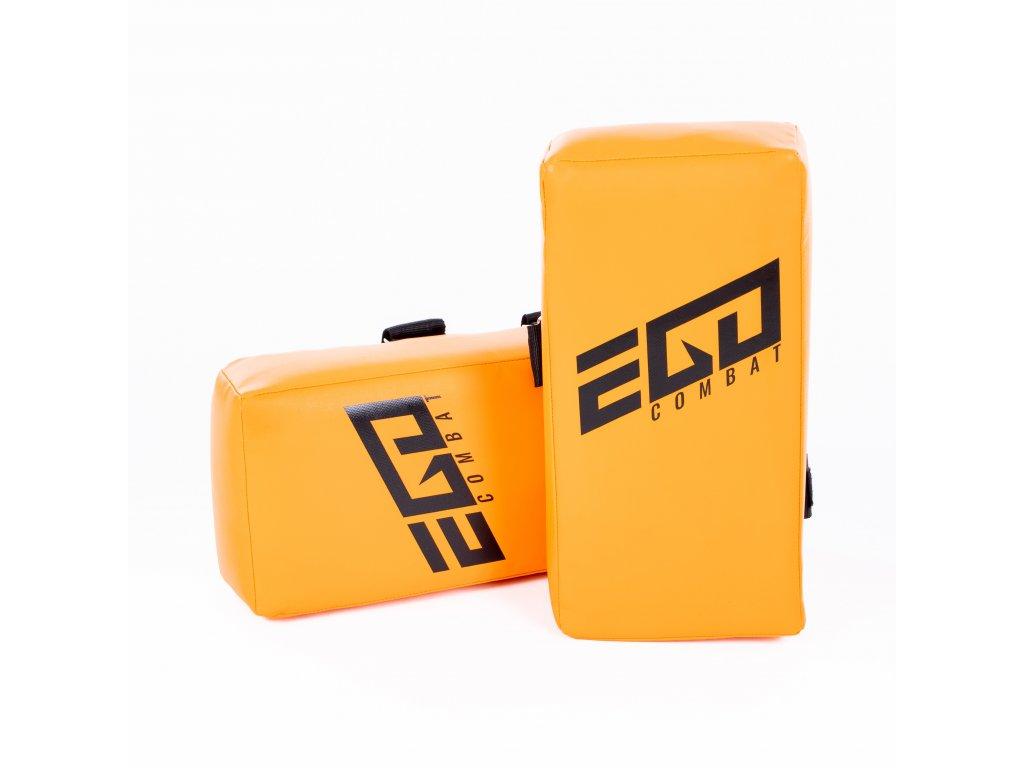 Thajský blok Energy.2 Ego Combat - 40x20x10 cm. Oranžová barva.