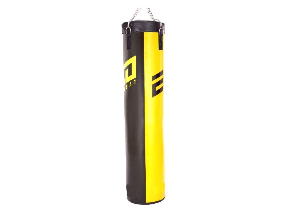 Boxovací pytel Ego Combat Endurance - čern/žlutá barva.