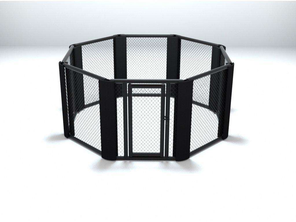 Tréninková klec MMA podlahová 4 metry