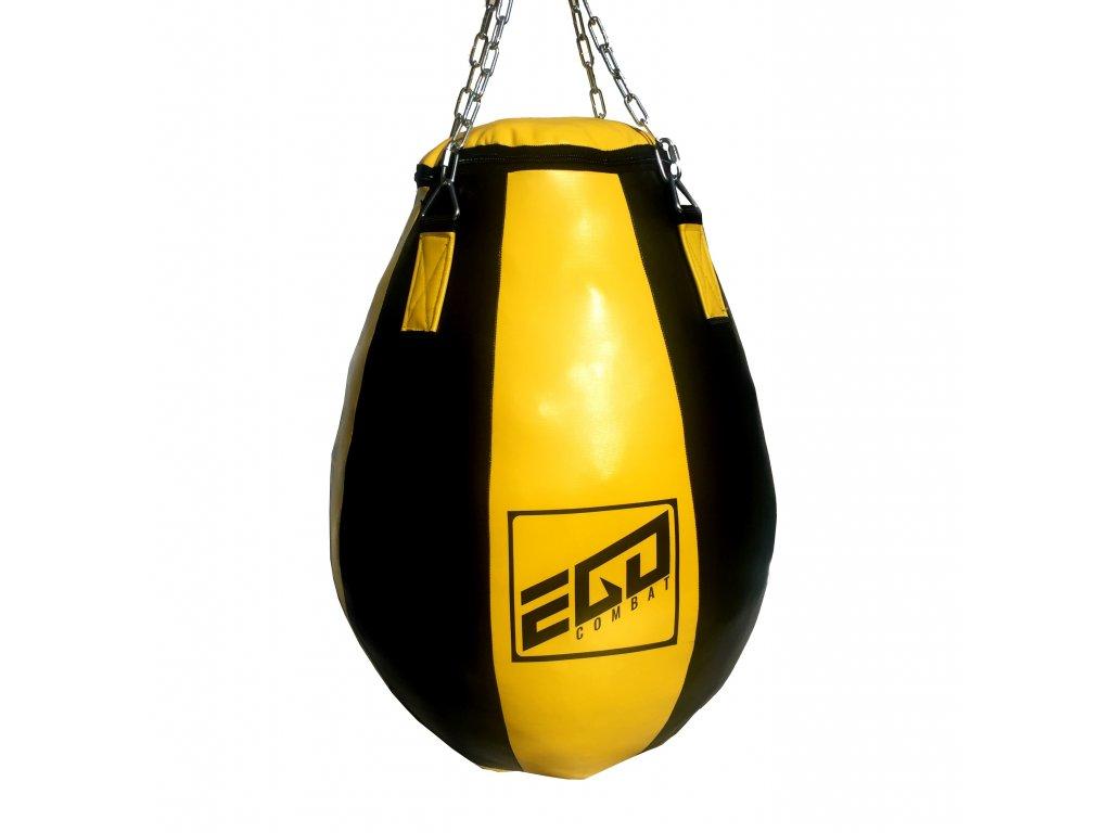 Velká boxovací hruška Ego Combat Endurance v černo-žluté barvě