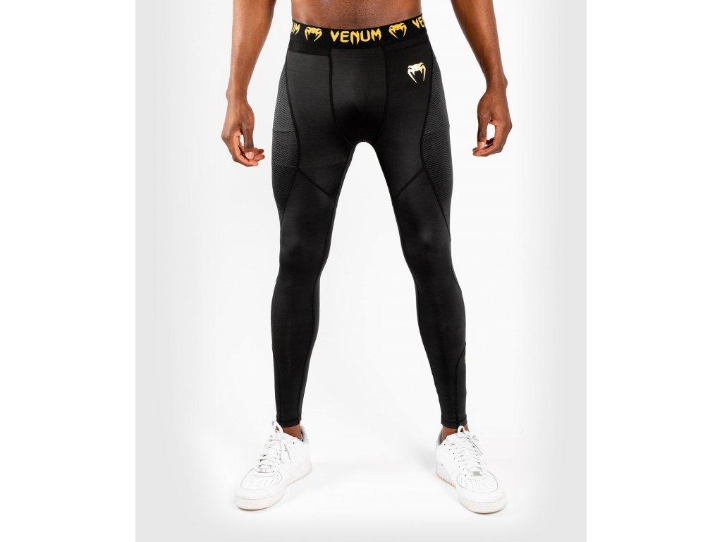 Venum kompresní kalhoty SPATS - legíny. G-FIT. černá barva