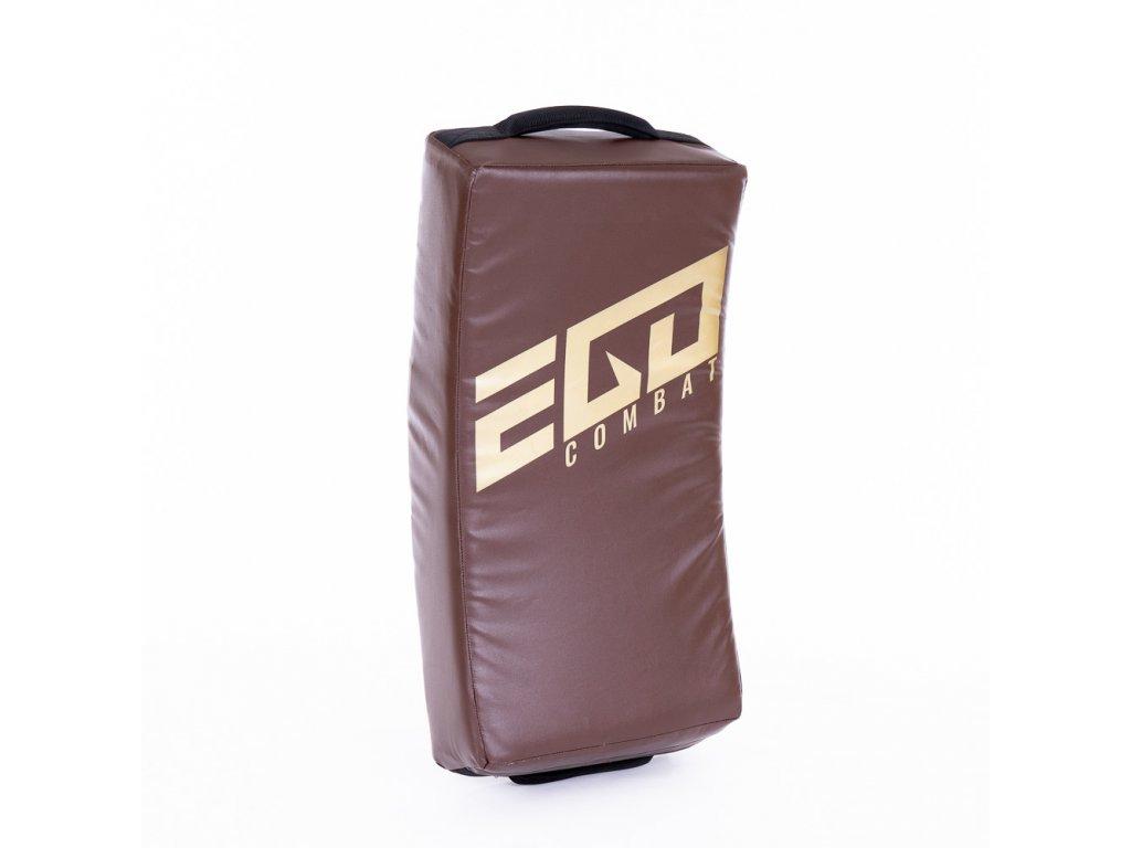 Lapa prohnutá - blok Energy.2 Ego Combat RETRO hnědá - 75x35x15 cm. Zlaté logo.