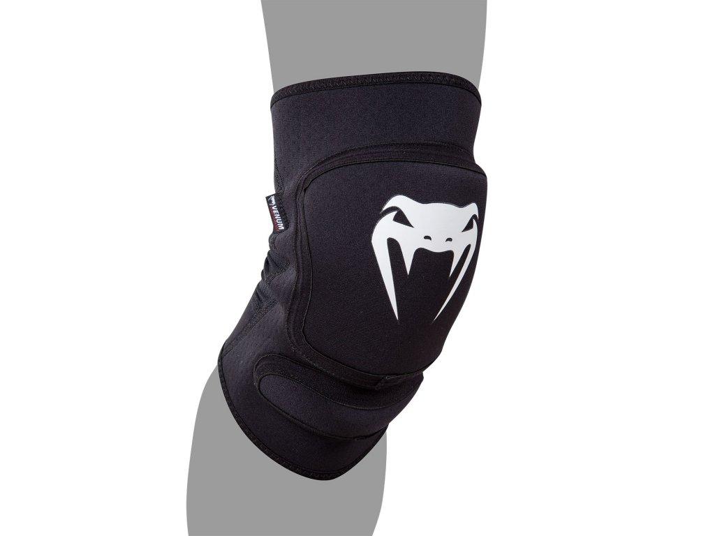 Venum chrániče kolen Kontact Evo - černá barva, bílé logo