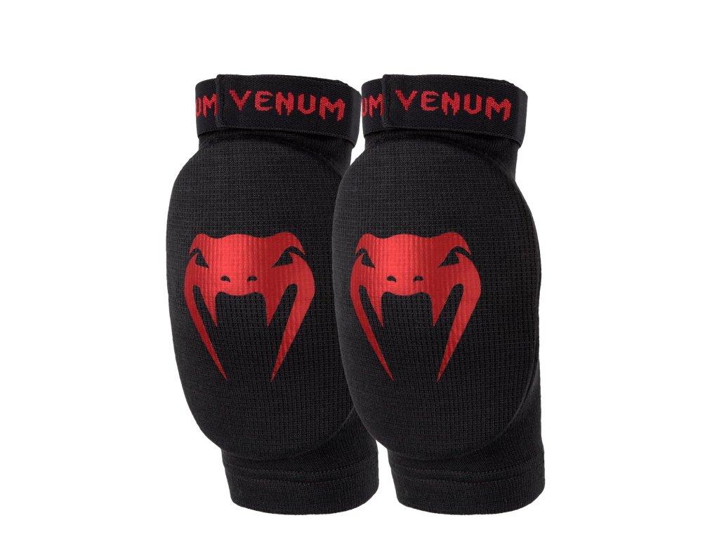 Venum chrániče loktů Kontact - černá barva, červené logo