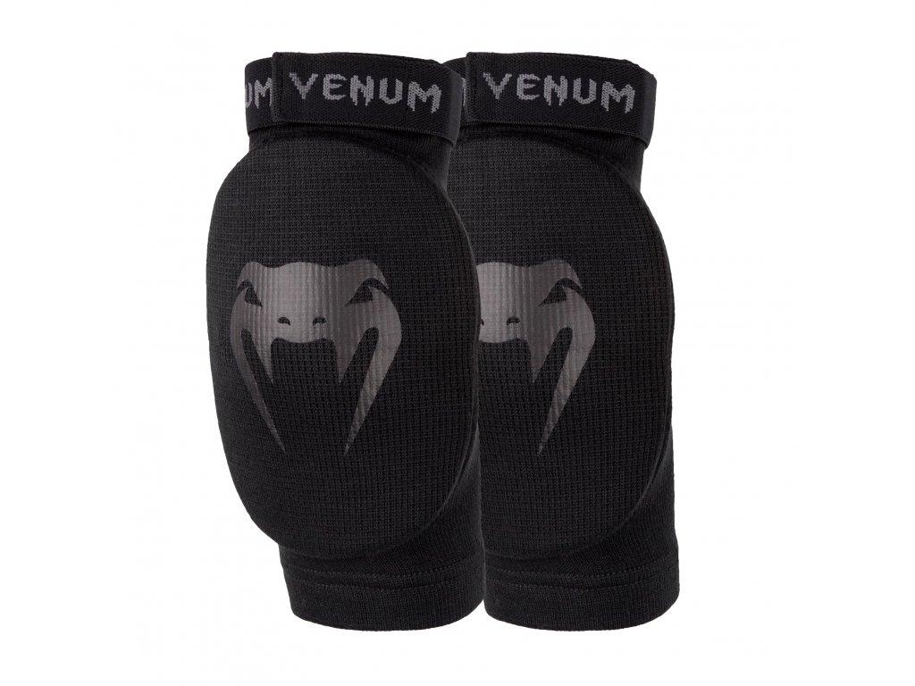 Venum chrániče loktů Kontact - černá barva, černé logo