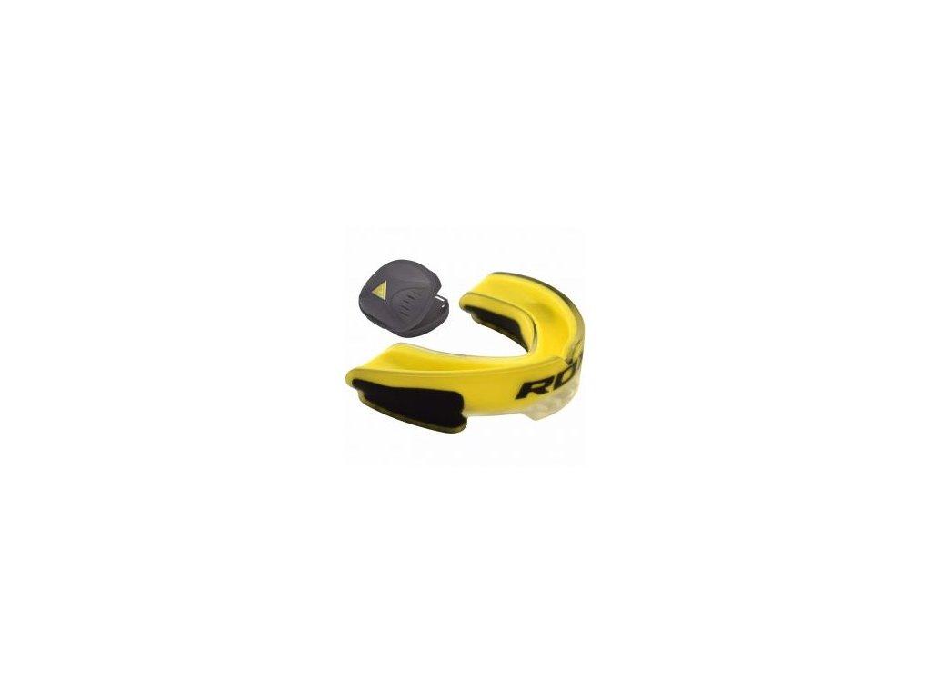 RDX 3G gelové chrániče zubů - žlutá barva