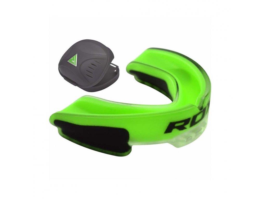 RDX 3G gelové chrániče zubů - neonově zelená barva
