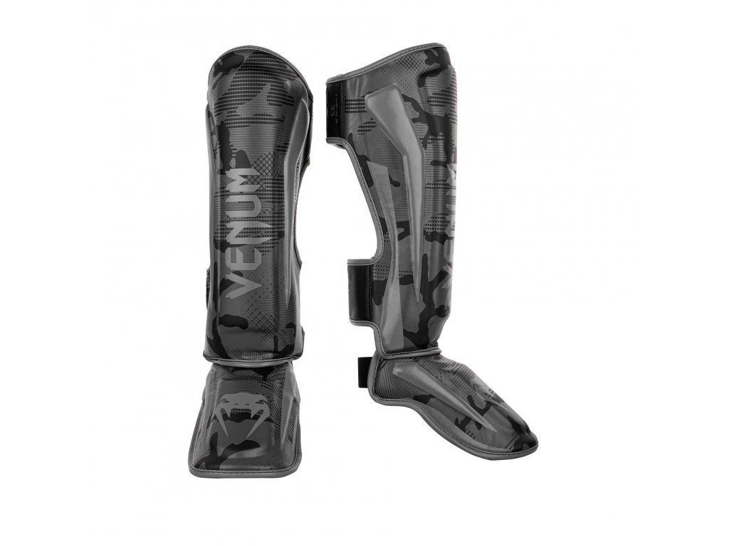 Chrániče holení Venum Elite Standup  Dark Camo - černá barva