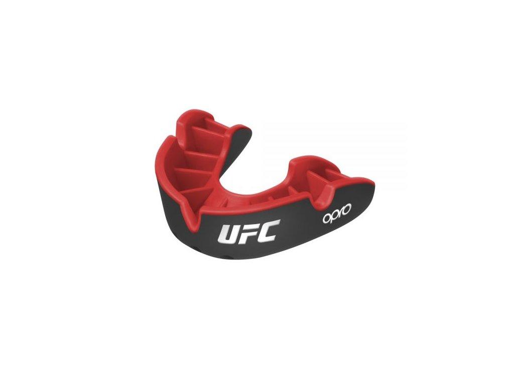 OPRO Silver chrániče zubů UFC - černá/červená barva