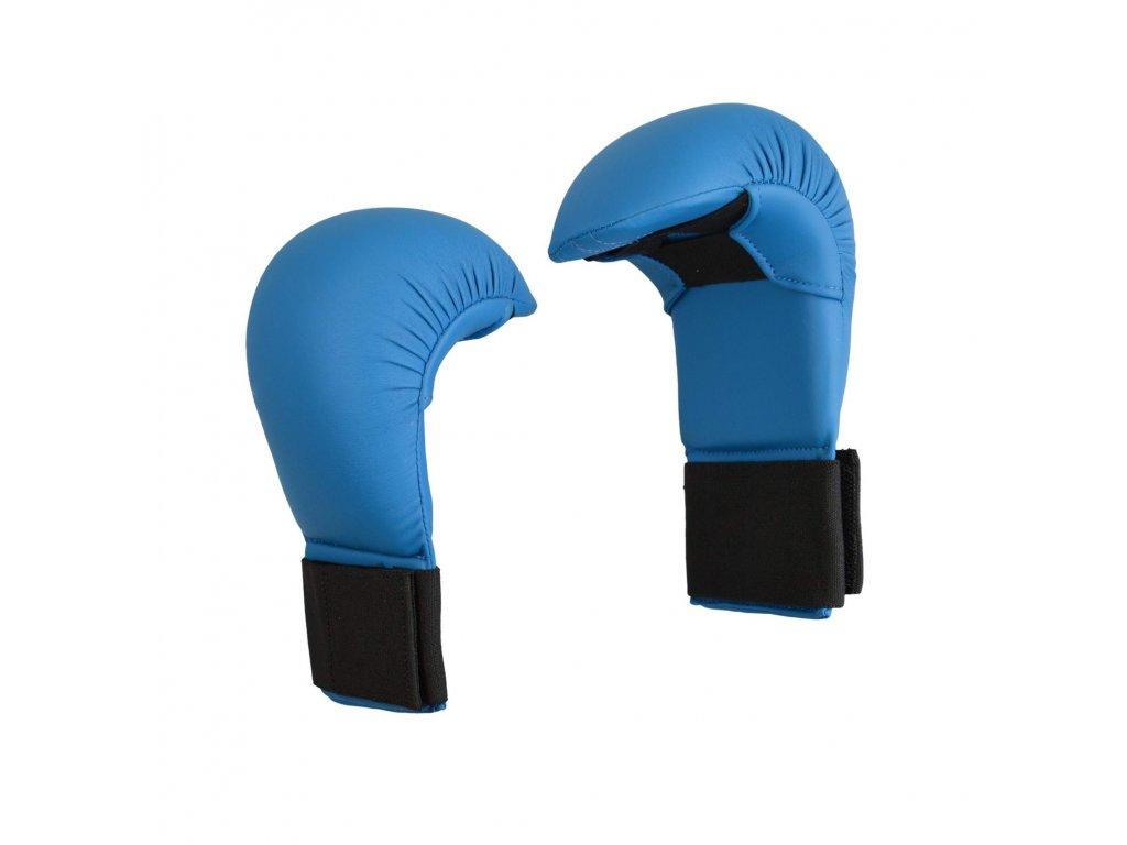 Chrániče rukou karate PX - modrá barva