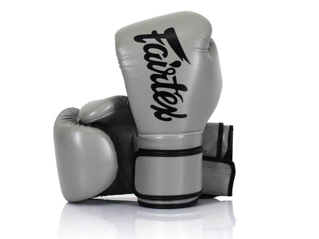 Boxerské rukavice Fairtex BGV14 - šedá barva