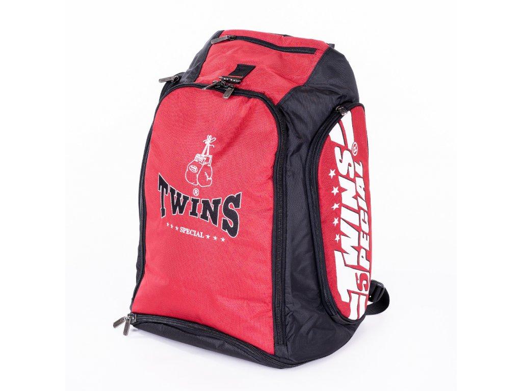 TWINS konvertibilní batoh/taška - červená