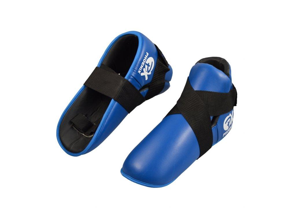 Chrániče nohou Phoenix - modrá barva
