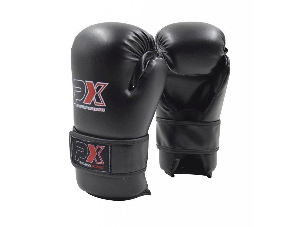 Otevřené rukavice PX - černá