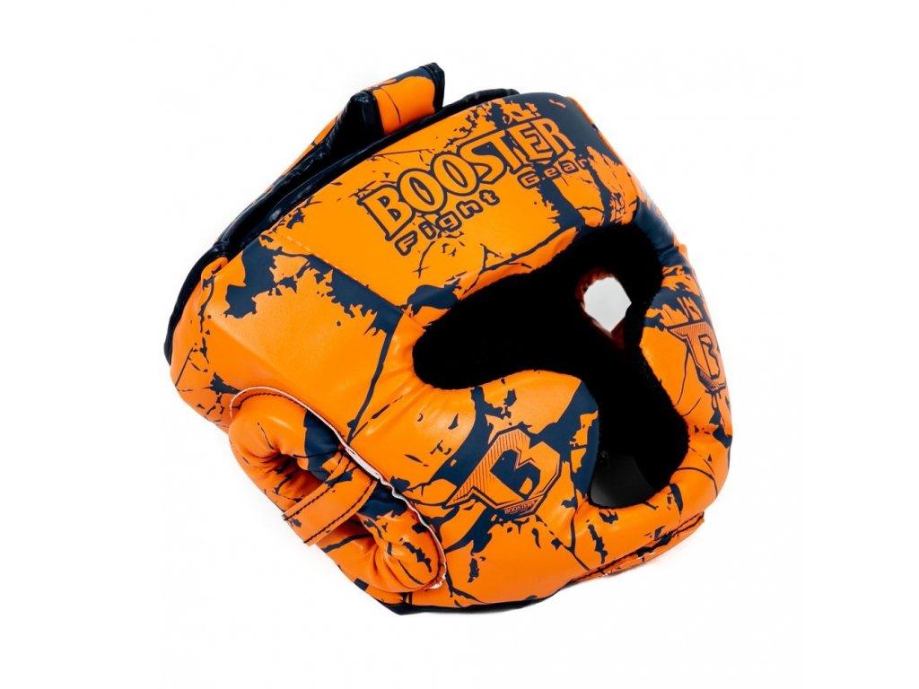 Dětská sparingová přilba Booster - oranžová