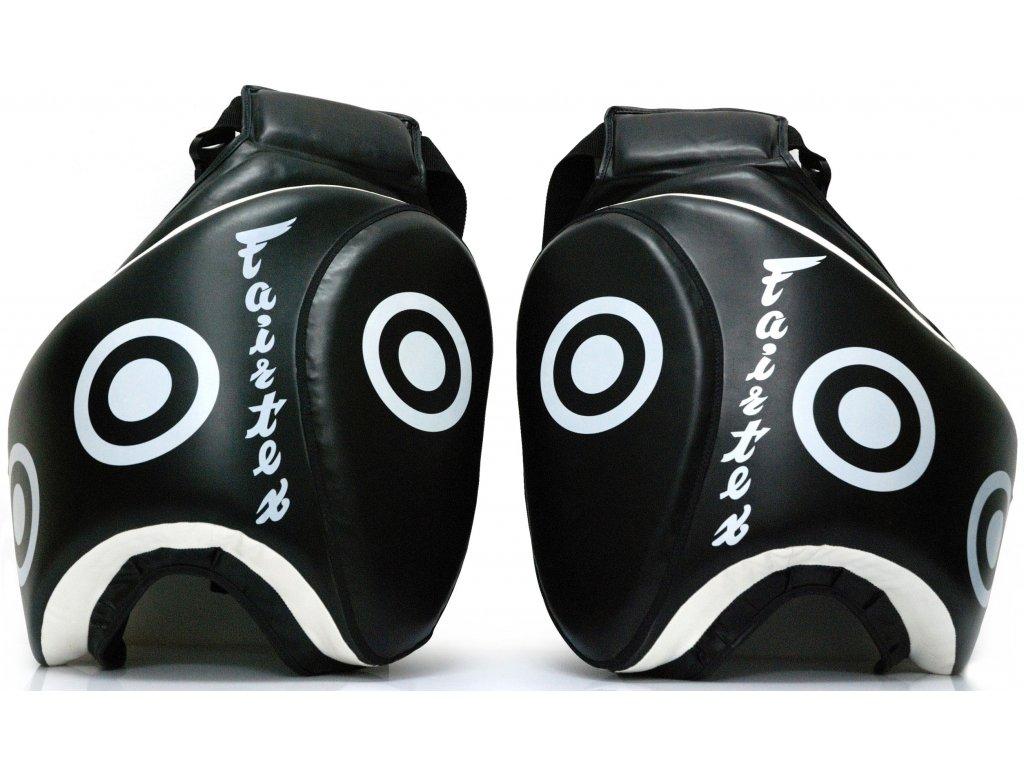 Lapy na stehna Fairtex - černá