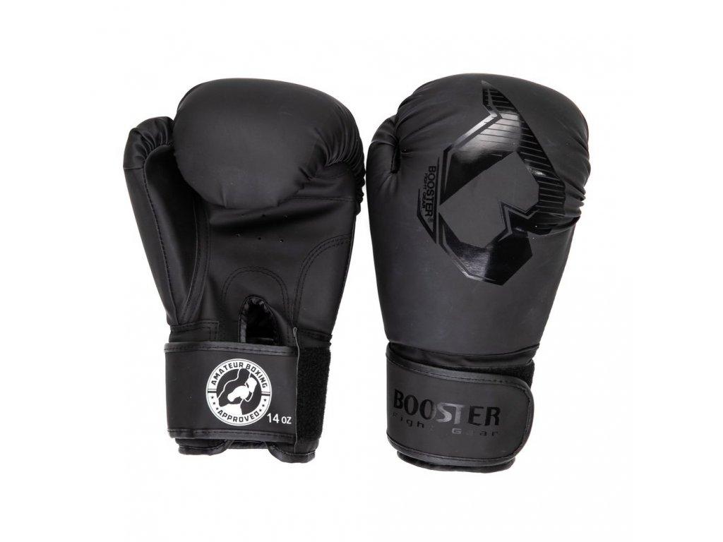 Booster boxerské rukavice BOXING APPROVED -  černá