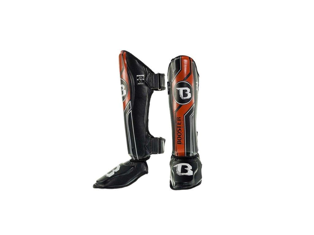 Booster Chrániče holení a nártů V9 - černá/červená