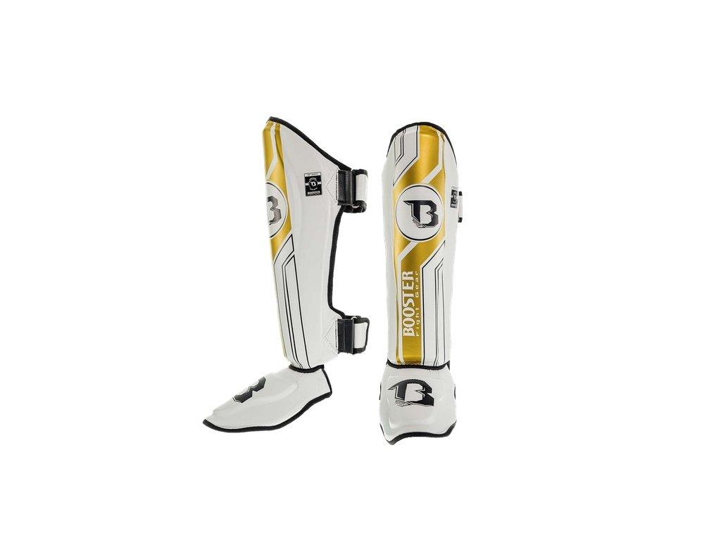 Booster Chrániče holení a nártů V9 - bílá/zlatá