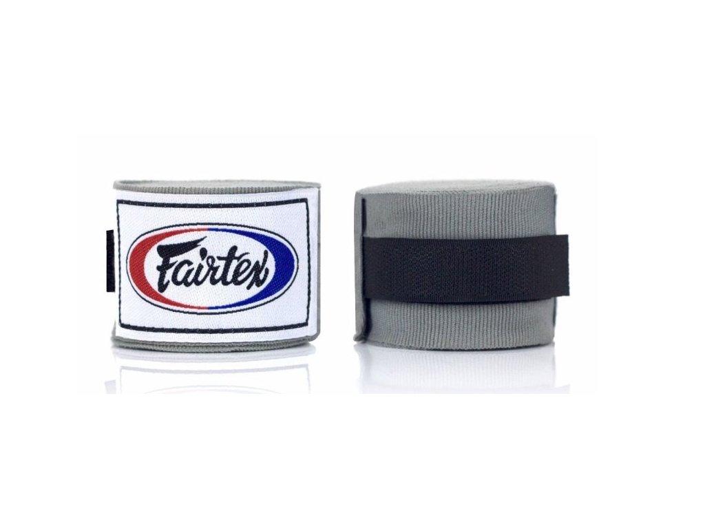 Fairtex polo-elastická bandáž 4,5 m - šedá