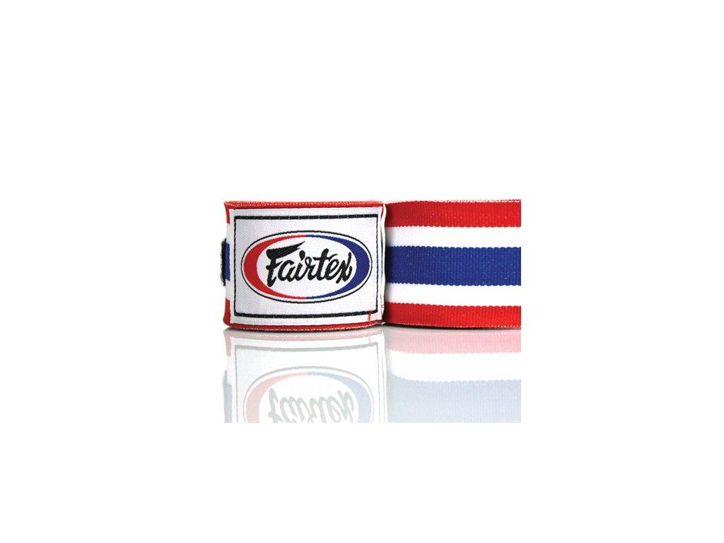Fairtex polo-elastická bandáž 4,5 m Thai Flag