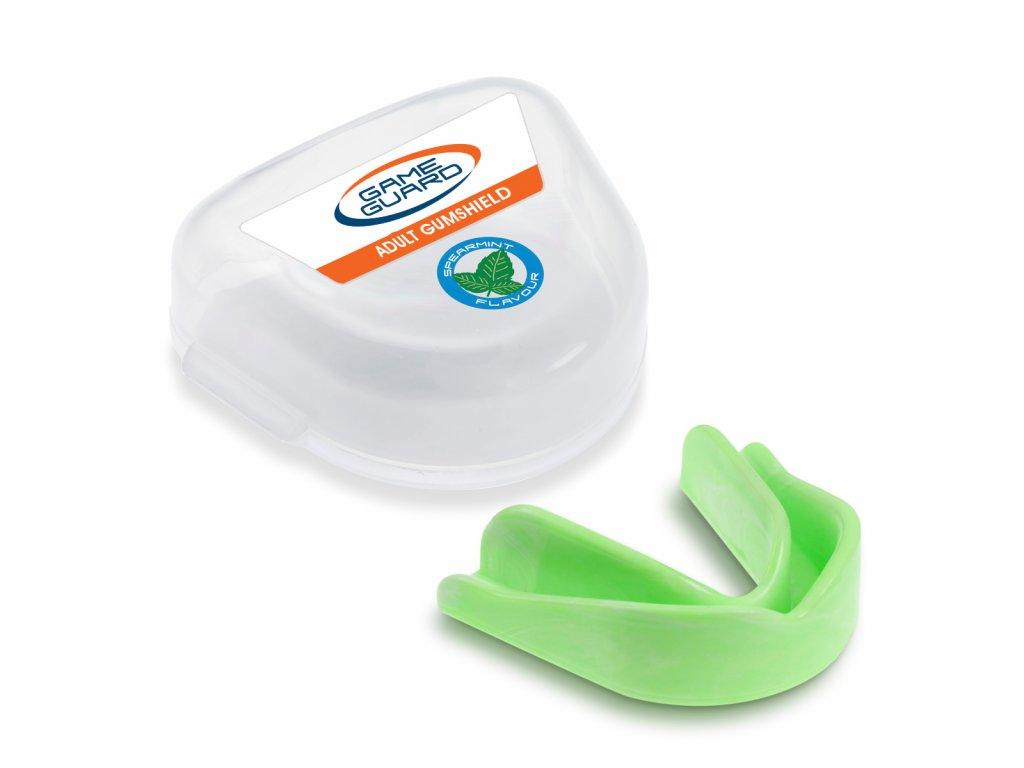 Chránič zubů Game Guard Peprmintová vůně - zelený
