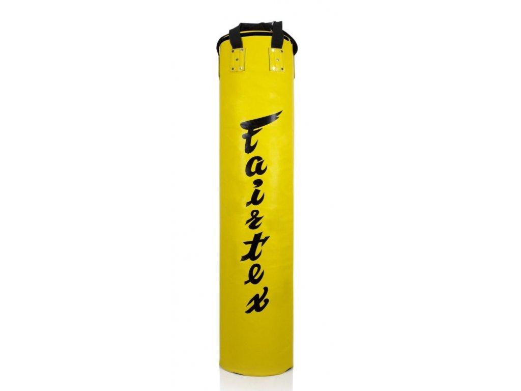 Boxovací pytel Fairtex Banana 180 cm–žlutá