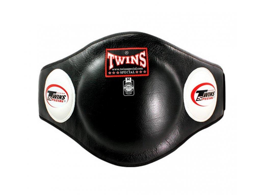 Tréninkový pás na břicho TWINS BEPL2 - černá barva
