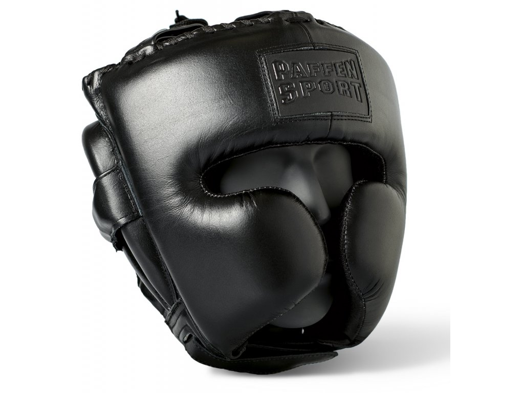 Přilba pro sparing Paffen Sport Black logo