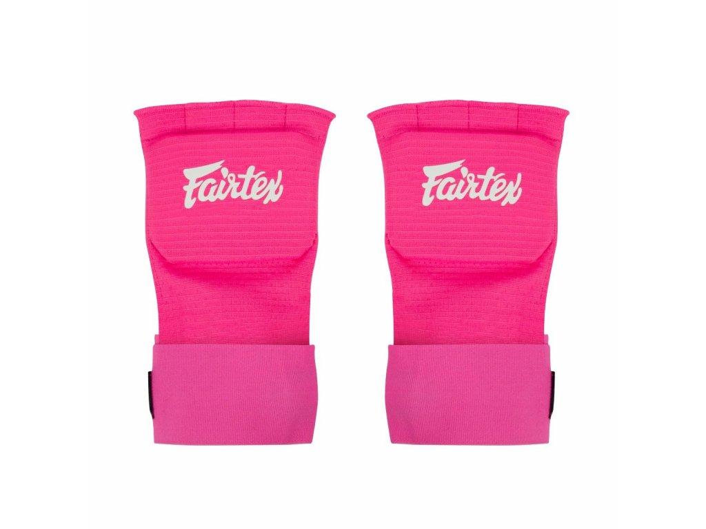 Fairtex bandáže Quick Wraps - růžová