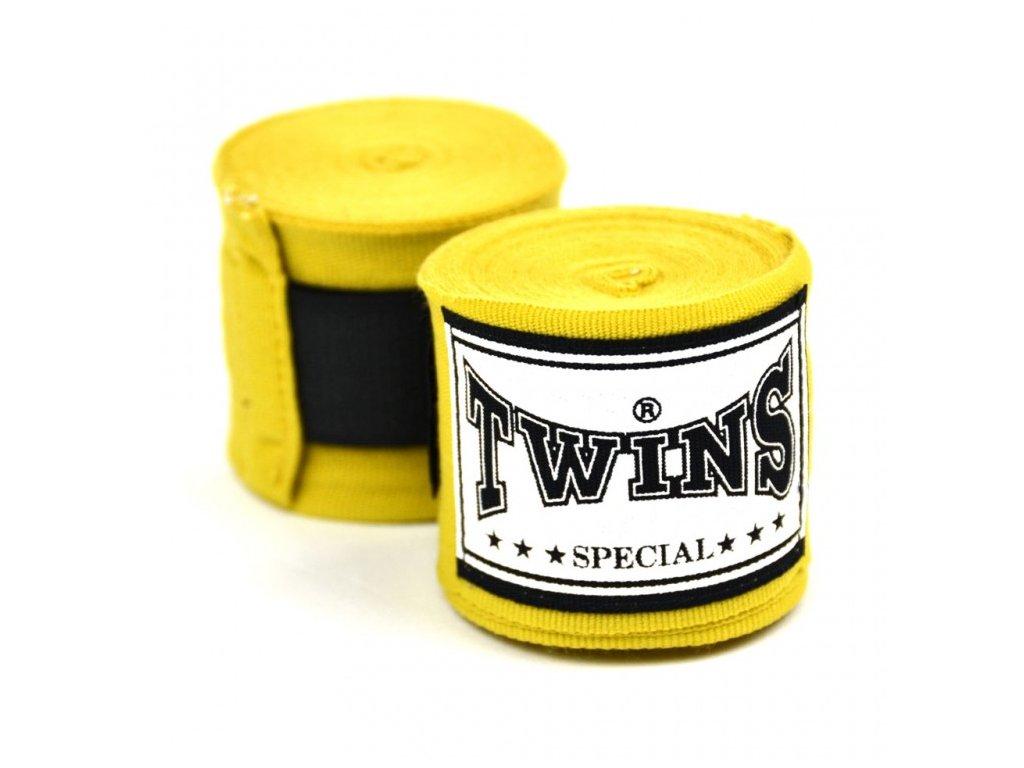 TWINS polo-elastická bandáž 4,5 m - žlutá