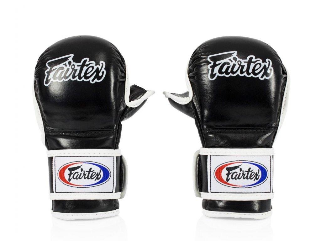 Fairtex sparingové rukavice MMA FGV15 - černá