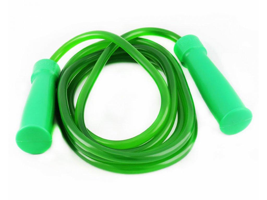 Plastové švihadlo TWINS - zelená