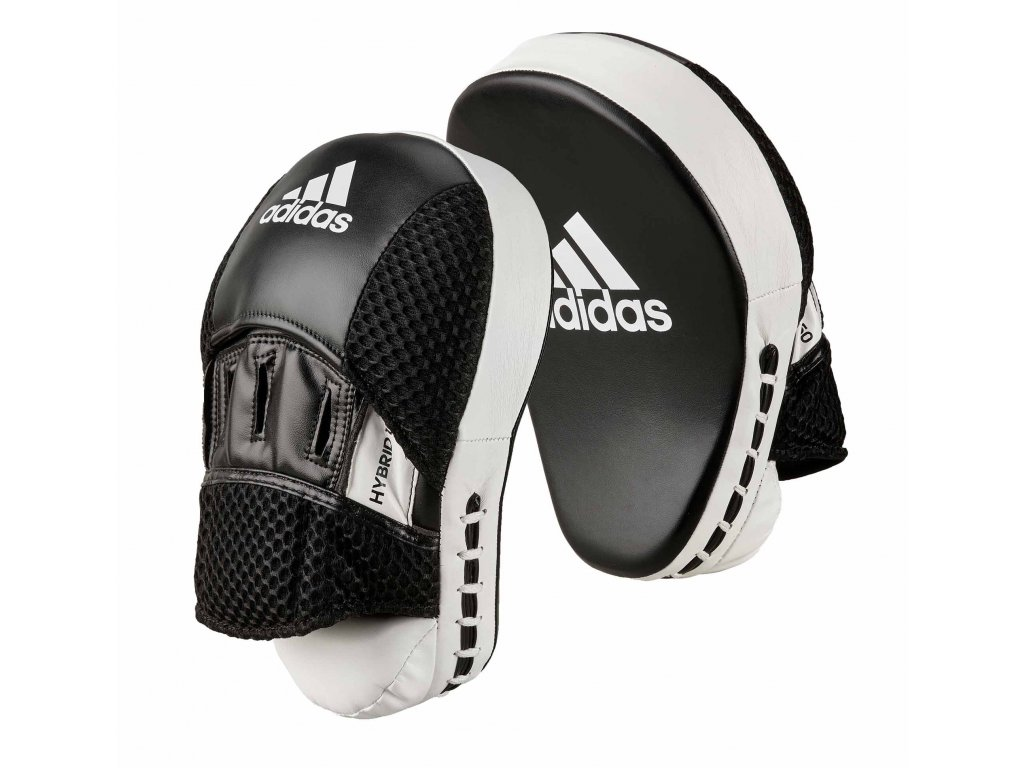 adidas Hybrid adiH150FM boxerské lapy - černá/bílá