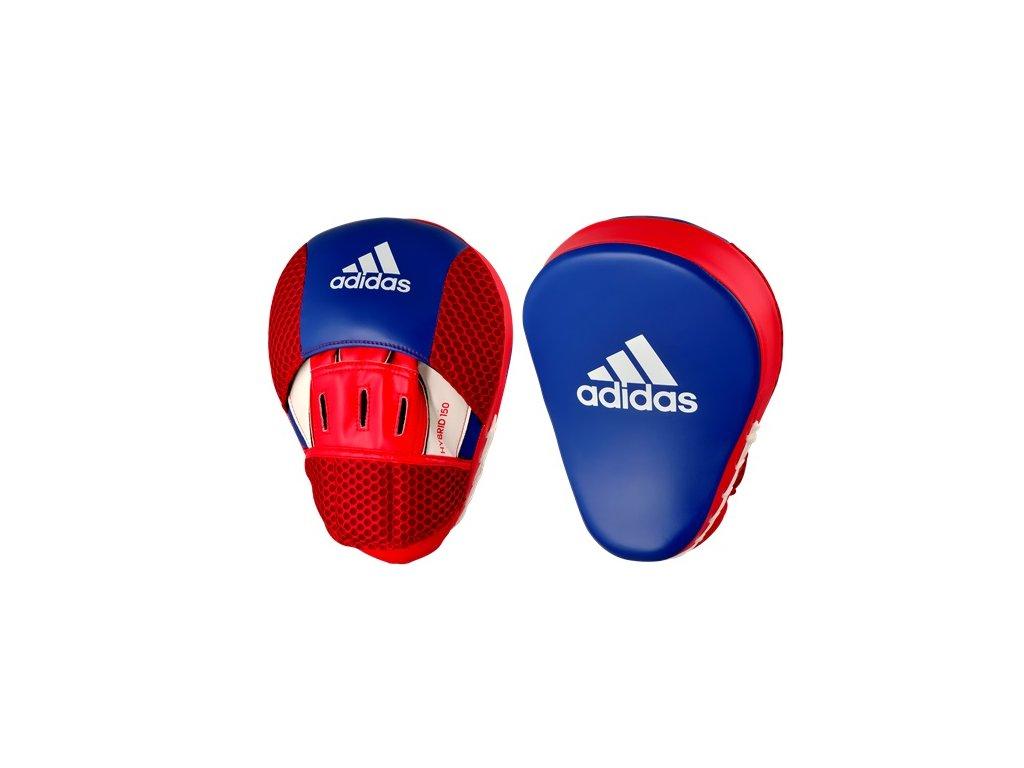 adidas Hybrid adiH150FM boxerské lapy - modrá/červenná