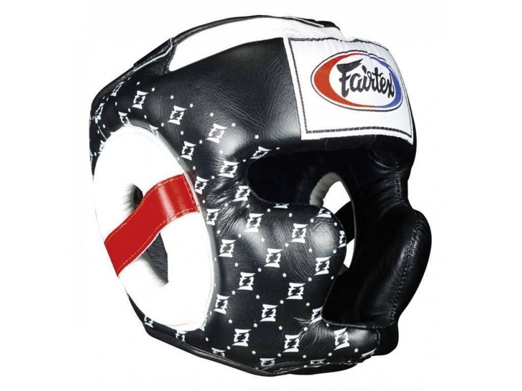Přilba na box Fairtex Supersparring HG10 - černá