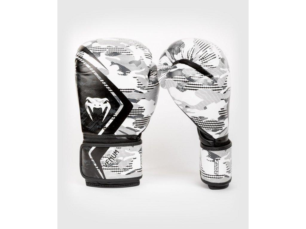 Boxerské rukavice Venum Contender 2.0 - Urban Camo - černá/bílá