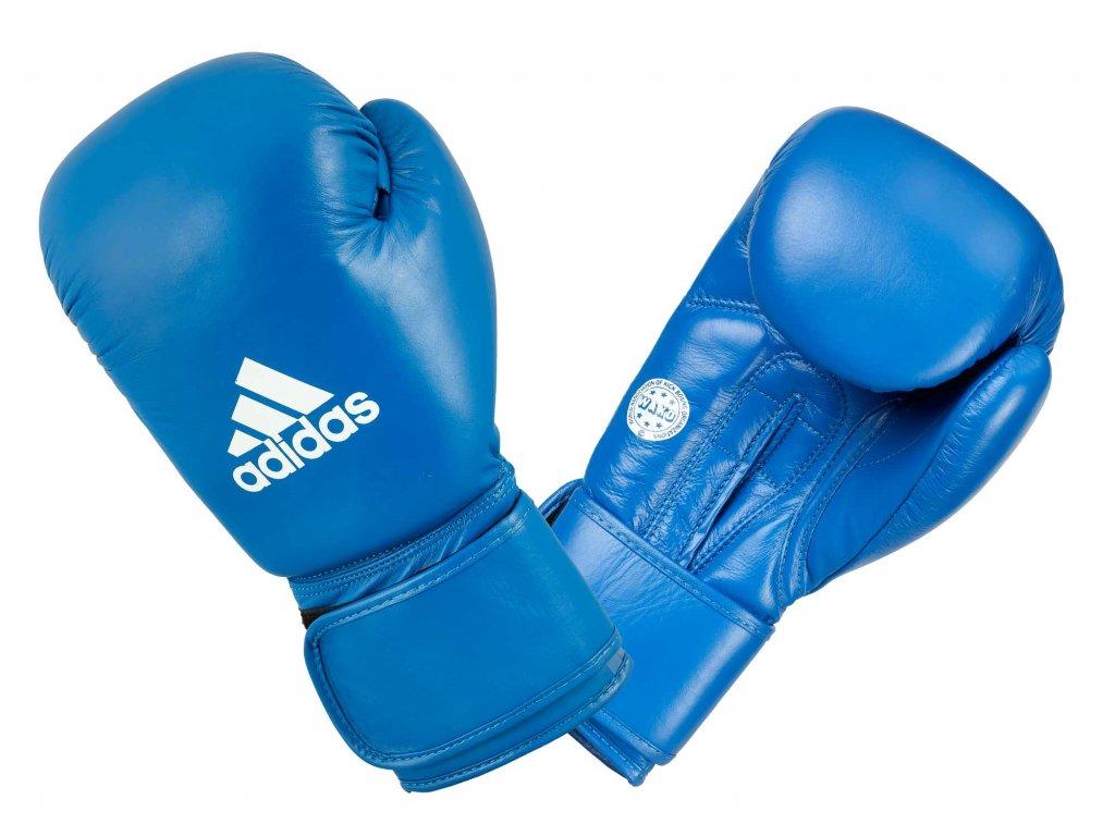 adidas boxerké rukavice WAKO - modrá
