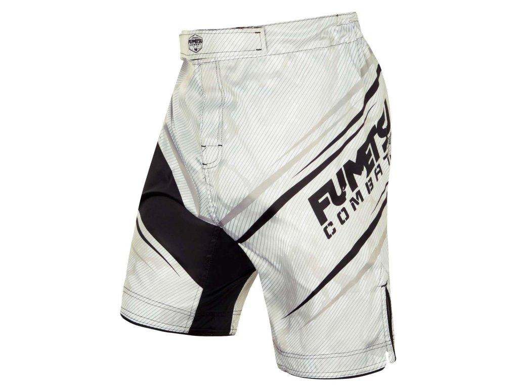 Fumetsu MMA trenky Shield - bílá/camo