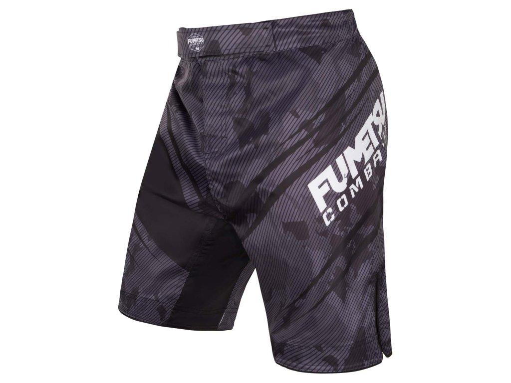 Fumetsu MMA trenky Shield - černá/camo