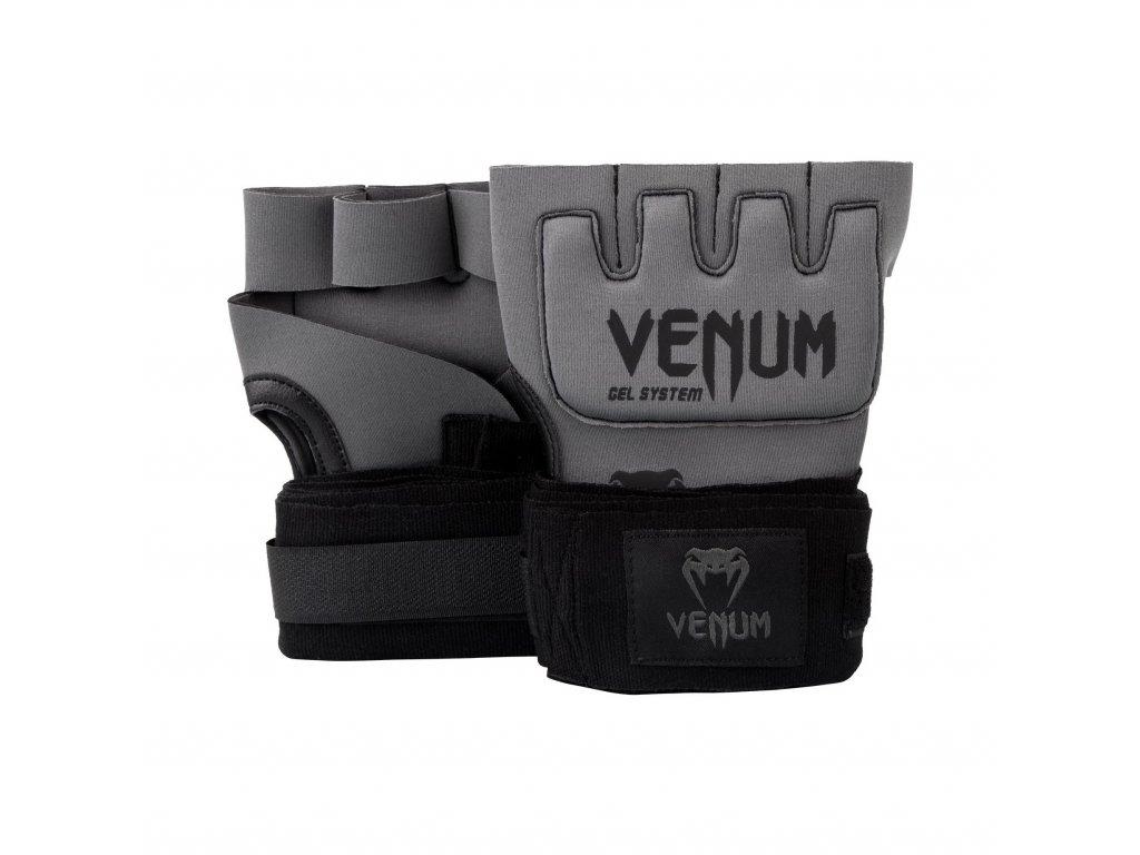 Venum gelové bandáže Kontact Gel šedá barva, černé logo