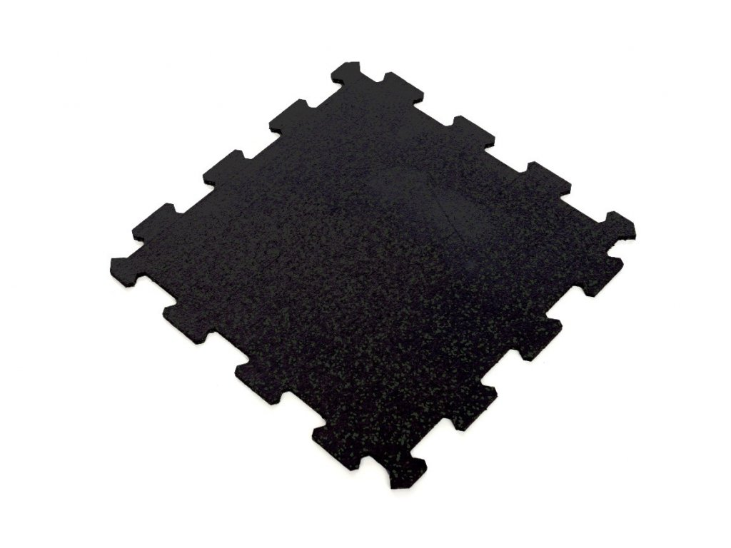 Gumové tatami puzzle černé  Ego Combat - tloušťka 1 cm